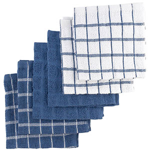 1. Ritz 6-Pack Kitchen Dish Towels