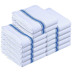 5. Utopia 12-Pack Kitchen Dish Towels