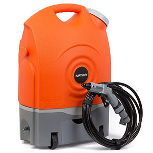 5. Ivation Portable Spray Washer w/Water Tank