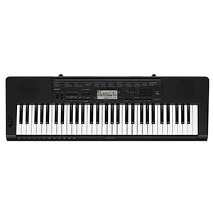 4. Casio 61-Key Portable Keyboard with Power Supply (CTK-3500)
