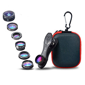10. SimpLenz 7 in 1 Clip On Cell Phone Camera Lens Kit
