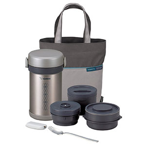 10. Zojirushi Ms. Bento Stainless Steel Lunch Jar (SL-NCE09)