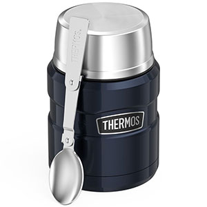 1. Thermos Stainless 16 Ounce Food Jar with Folding Spoon