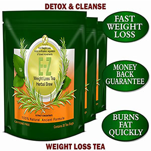 4. YoungYou International E-Z Detox Diet Tea