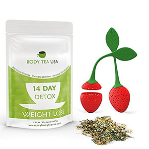 10. Body Tea USA 14 Day Detox Tea