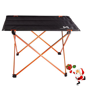 5. Moon Lence Camping Table with Carrying Bag