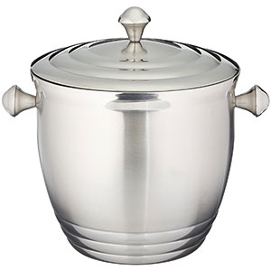 2. Lenox Stainless Steel Ice Bucket (Tuscany Classics)