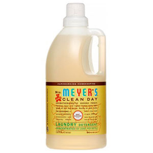 7. Mrs. Meyers 64 Loads Baby Laundry Detergent