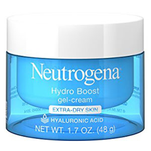 3. Neutrogena Hyaluronic Acid Hydro Boost Hydrating Gel-Cream and Face Moisturizer with Smooth Extra-Dry Skin and Hydrate, 1.7 oz