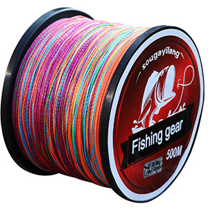 4. Sougayilang 500m/547 Yards 4 Strands Braided Fishing Line
