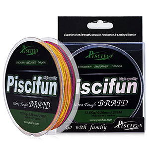 10. Piscifun Improved Braided Fishing Line