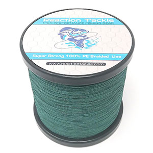 5. Reaction Tackle Braided Fishing Line (Various Colors)