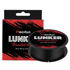 9. Piscifun Braided Fishing Line (Lunker)