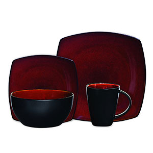 Gibson Soho Square Dinnerware Set  sc 1 st  God Of Smile & Top 10 Best Stoneware Dinnerware Sets in 2018 Reviews