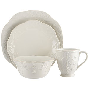 8. Lenox French Perle Place Setting