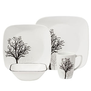 1. Corelle Square Dinnerware Set
