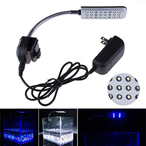 3. Mingdak LED Clip Aquarium Light