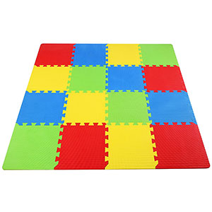 3. BalanceFrom Kid's Puzzle Exercise Play Mat