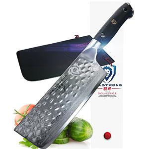 3. Dalstrong VG10 Nakiri Vegetable Knife