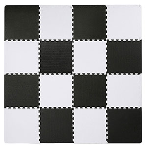 10. Superjare Interlocking Puzzle Mat
