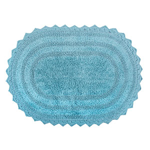 10. DII Ultra-Soft Oval Bath Mat
