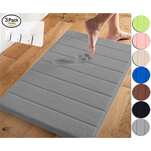 3. Yimobra Large-Sized Memory Foam Bathroom Mats