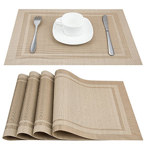 1. Artand Heat-Resistant Placemats