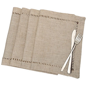 4. Grelucgo Handmade Table Placemats
